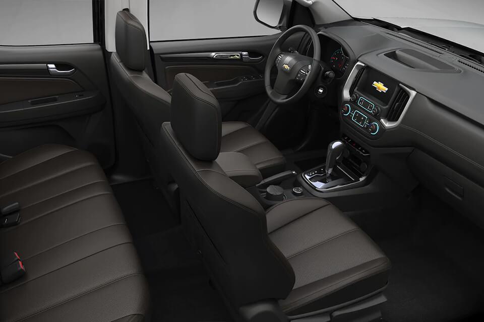Chevrolet Colorado en ChevyPlan, detalle interior