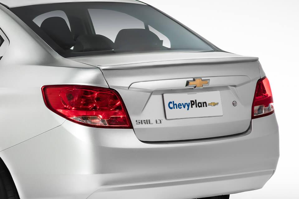 Chevrolet Sail en ChevyPlan, detalle exterior