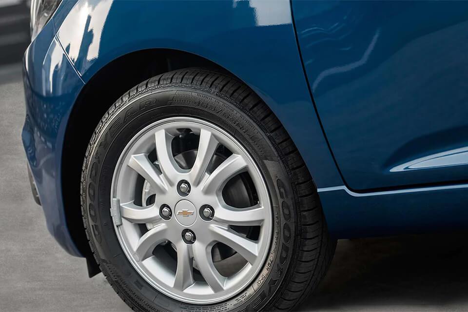Chevrolet Spark GT en ChevyPlan, detalle exterior