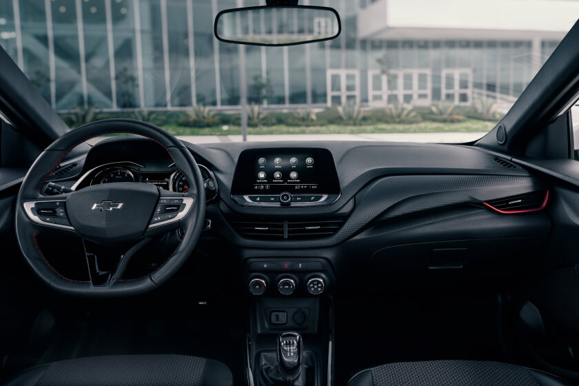 Chevrolet Onix RS en ChevyPlan, detalle interior
