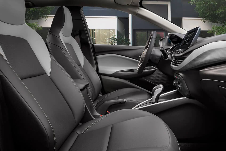 Chevrolet Onix Sedán en ChevyPlan, detalle interior