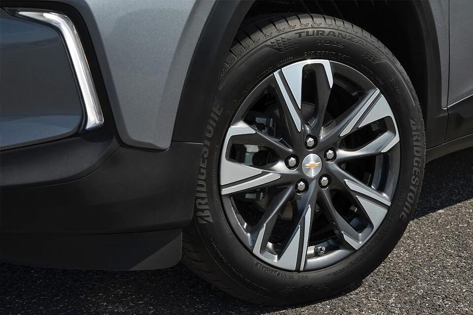 Chevrolet Tracker Turbo en ChevyPlan, detalle exterior